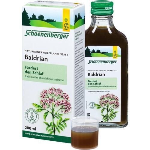 BALDRIAN HEILPFLANZENSÄFTE Schoenenberger