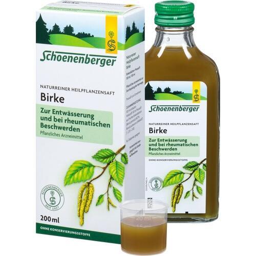 BIRKENSAFT Schoenenberger Heilpflanzensäfte