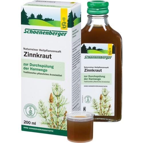 zinnkraut saft schoenenberger 200 ml markenshops. Black Bedroom Furniture Sets. Home Design Ideas