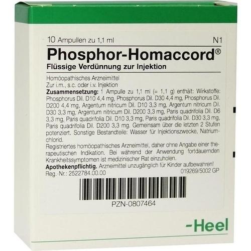 PHOSPHOR HOMACCORD Ampullen