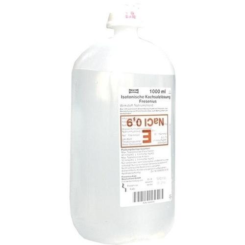KOCHSALZLÖSUNG 0,9% Plastikfl. Fresenius