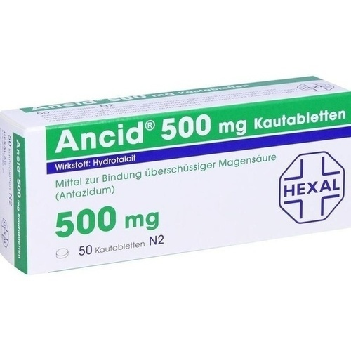 ANCID 500 mg Kautabletten