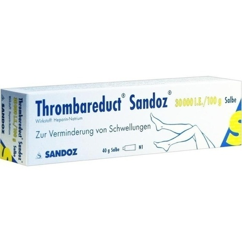 THROMBAREDUCT Sandoz 30. 000 I. E.  Salbe