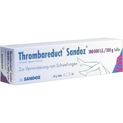 THROMBAREDUCT Sandoz 180. 000 I. E.  Salbe