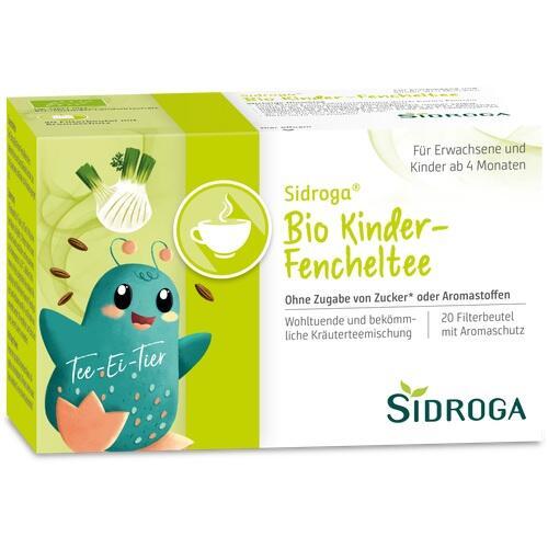 sidroga bio kinder fencheltee filterbeutel 20 st baby kindertee baby kind alle. Black Bedroom Furniture Sets. Home Design Ideas