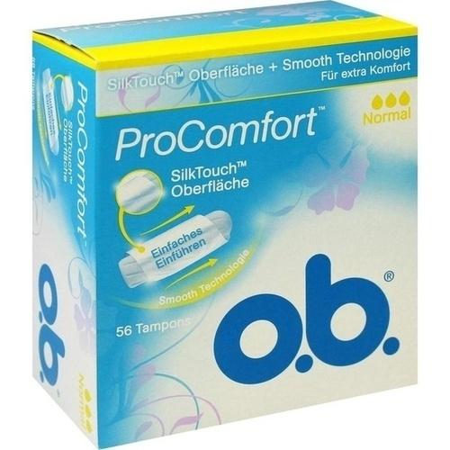 O.B. Tampons ProComfort normal