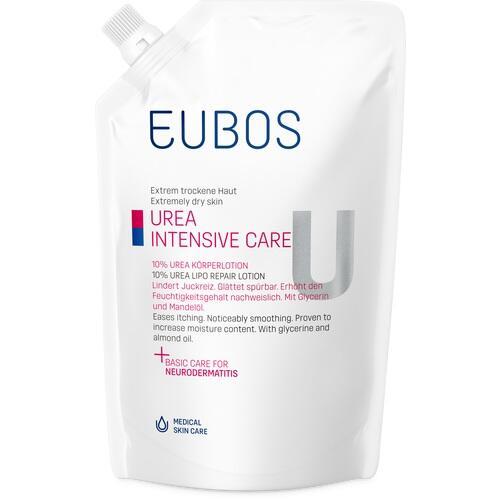 EUBOS TROCKENE HAUT Urea 10% Körperlotion Beutel