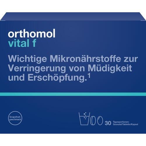 ORTHOMOL Vital F Grapefruit Gran./Kap./Tab.Kombip.