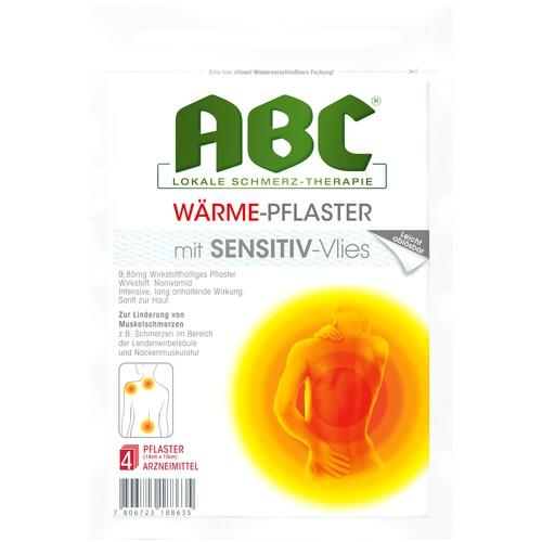 ABC Wärme-Pflaster sensitive Hansaplast med