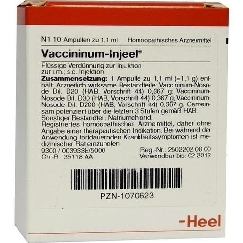 VACCININUM Injeel Ampullen