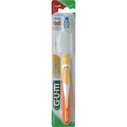 GUM ActiVital Zahnbürste kompakt soft