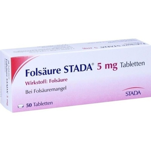 FOLSÄURE STADA 5 mg Tabletten