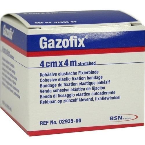 GAZOFIX Fixierbinde 4 cmx4 m hautf.