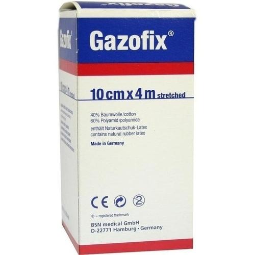 GAZOFIX Fixierbinde 10 cmx4 m hautf.