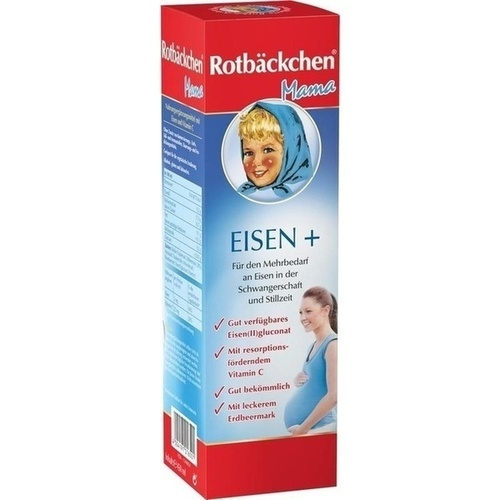 RABENHORST Rotbäckchen Mama Eisen+ Saft