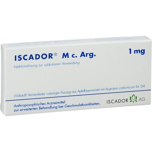 ISCADOR M c.Arg 1 mg Soluție injectabilă