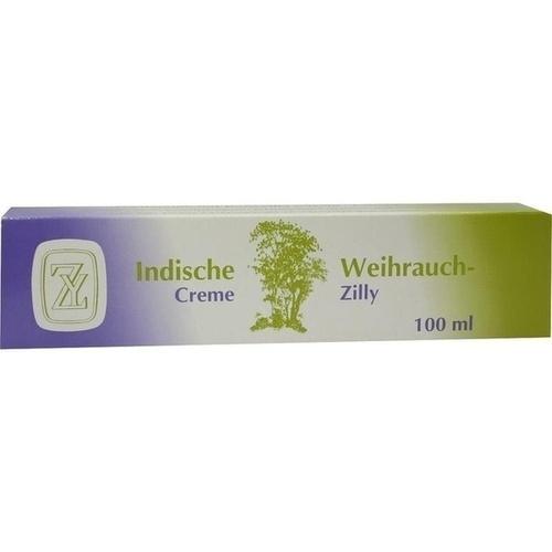 Fritz Zilly GmbH INDISCHE Weihrauch Creme 100 g 500