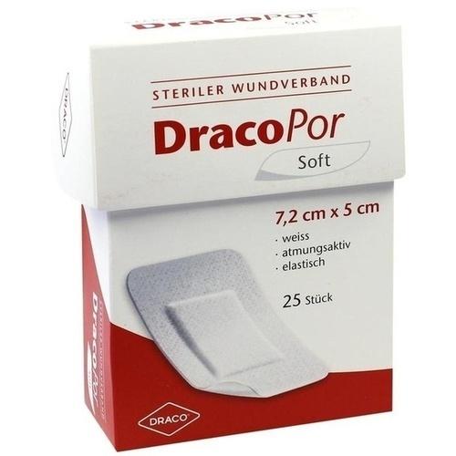 DRACOPOR Wundverband 5x7,2 cm steril