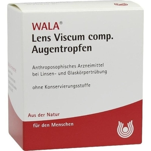 WALA LENS VISCUM comp. Augentropfen