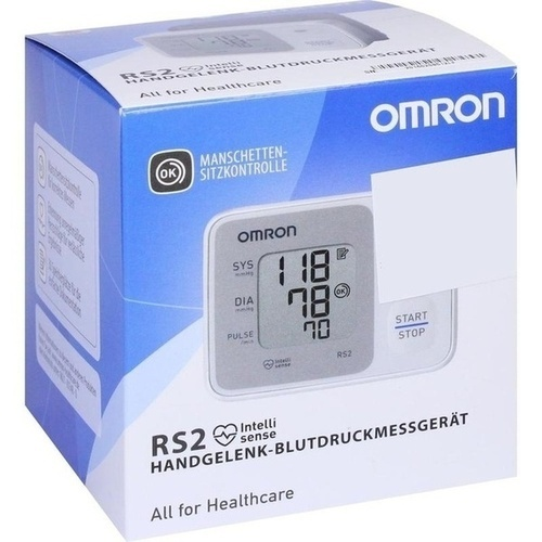 Hermes Arzneimittel GmbH OMRON RS2 Handgelenk Blutdruckmessgerät vollautom. 1 St.
