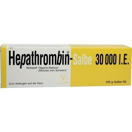 HEPATHROMBIN Salbe 30.000