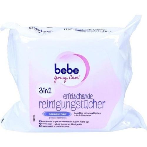 BEBE YOUNG CARE erfrischende Reinigungstücher NF