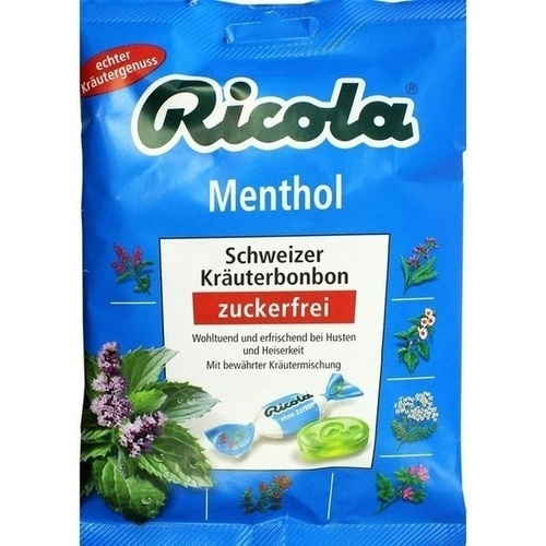 RICOLA o. Z. Beutel Menthol Bonbons
