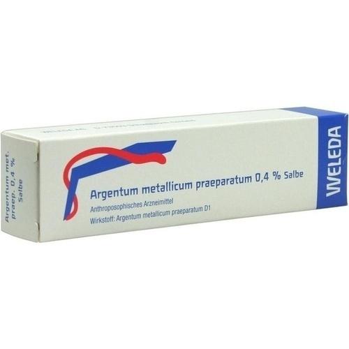 ARGENTUM METALLICUM PRAEP. 0,4% Salbe