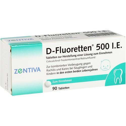 D FLUORETTEN 500 Tabletten