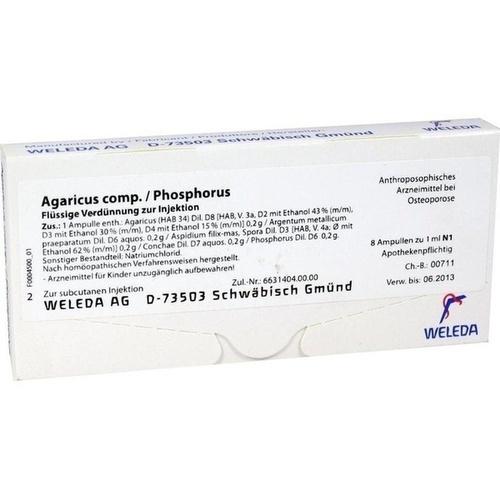 AGARICUS COMP./Phosphorus Ampullen