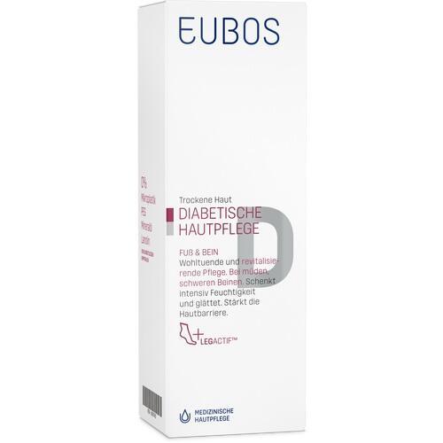 EUBOS DIABETISCHE HAUT PFLEGE Fuß+Bein Creme