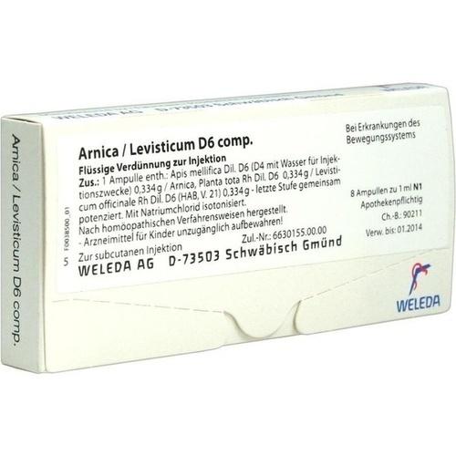 ARNICA/LEVISTICUM D 6 comp. Ampullen