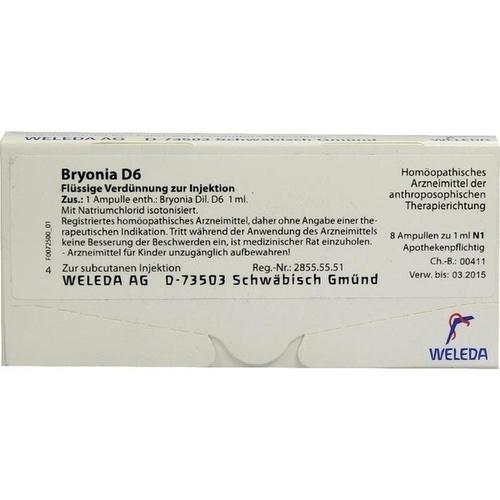 BRYONIA D 6 Ampullen