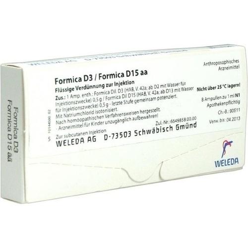 FORMICA D 3/Formica D 15 aa Ampullen