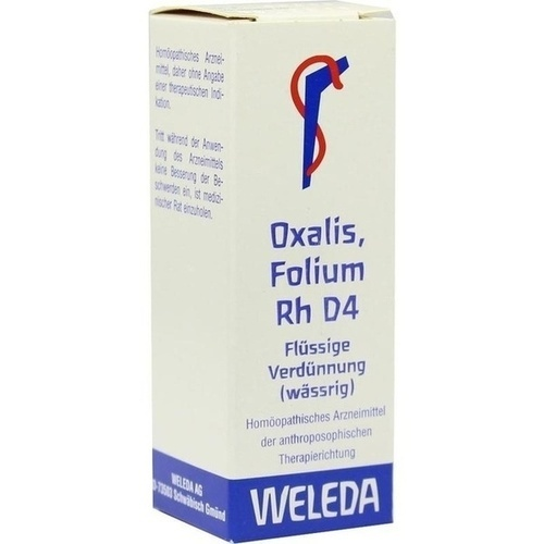 OXALIS FOLIUM Rh D 4 Dilution