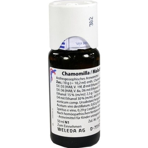 CHAMOMILLA/MALACHIT comp. Mischung