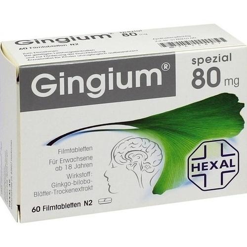 GINGIUM spezial 80 mg Filmtabletten