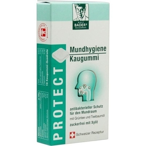 BADERS Protect Gum Mundhygiene Kaugummi