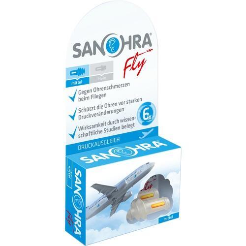 SANOHRA fly Ohrenschutz f.Erwachsene 2 St.