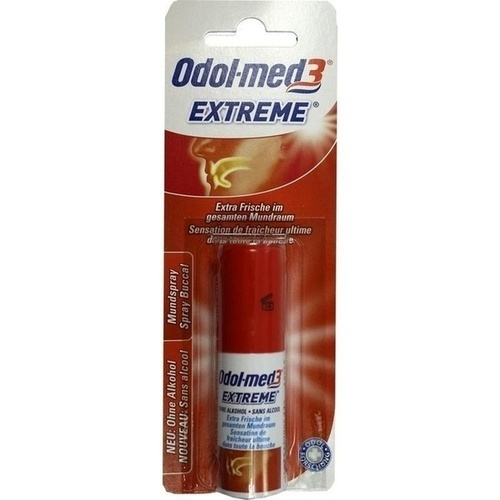 ODOL MED 3 Extreme Mundspray mit Blister
