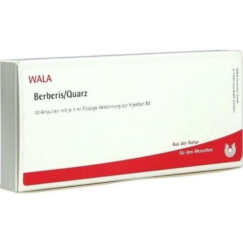 WALA BERBERIS/QUARZ Ampullen