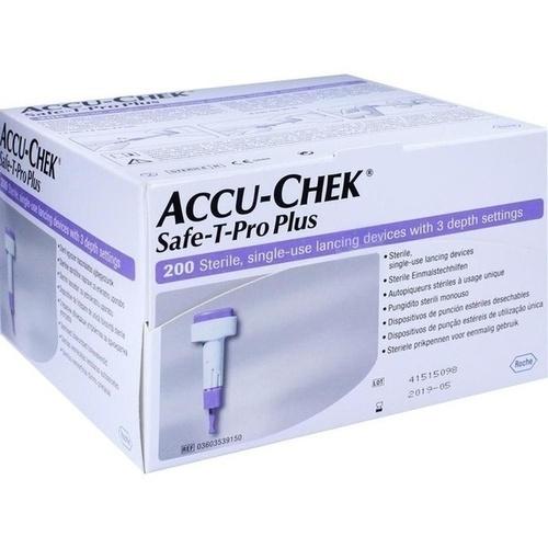 ACCU CHEK Safe T Pro Plus Lanzetten