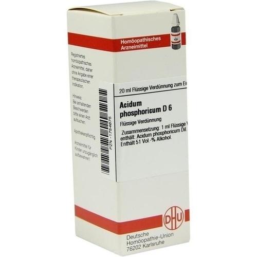 ACIDUM PHOSPHORICUM D 6 Dilution