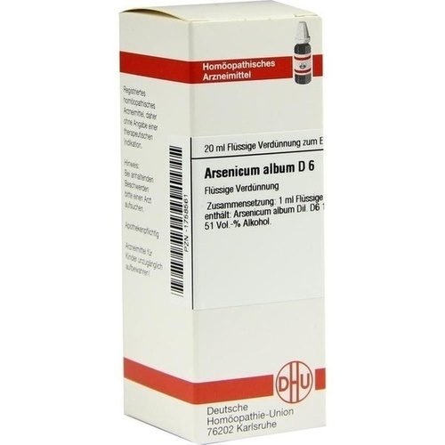 ARSENICUM ALBUM D 6 Dilution