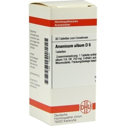 ARSENICUM ALBUM D 6 Tabletten