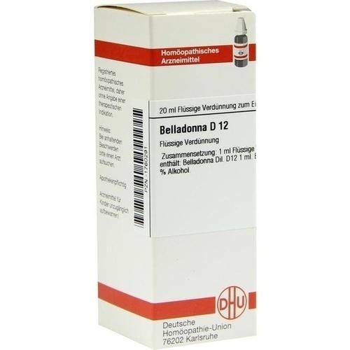 BELLADONNA D 12 Dilution