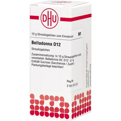 BELLADONNA D 12 Globuli