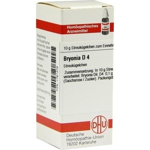 BRYONIA D 4 Globuli