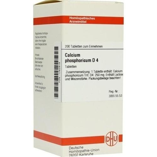 calcium phosphoricum d 4 tabletten 200 st pzn 01762918. Black Bedroom Furniture Sets. Home Design Ideas