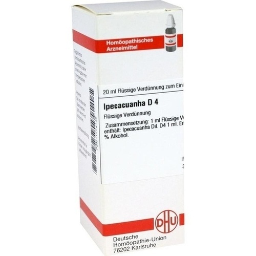 IPECACUANHA D 4 Dilution 20 ml - I-J - Dilutionen A-Z ...